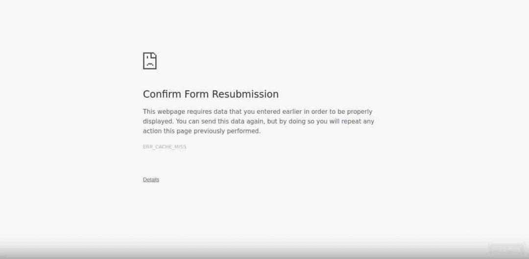 Confirm-Form-Resubmission-Fixes