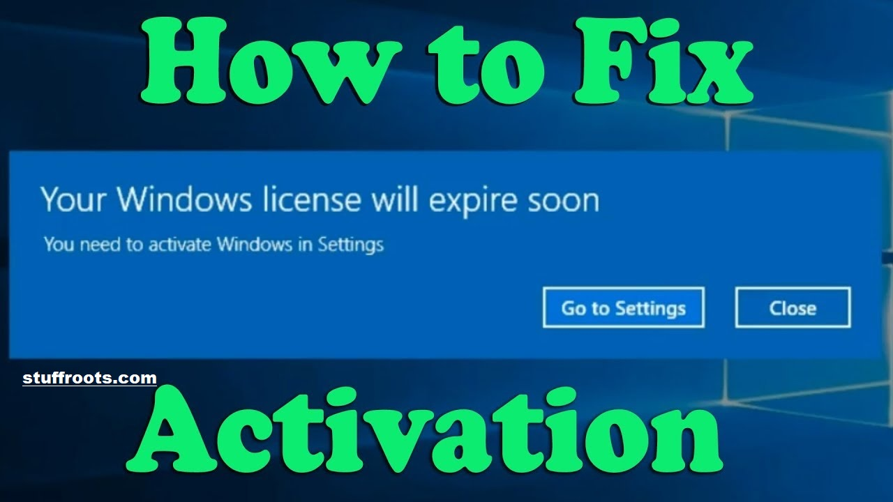 Fix Error Your Windows License Will Expire Soon [FIXED]