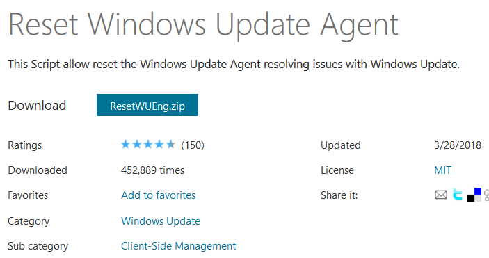 Reset-Windows-Update-Agent