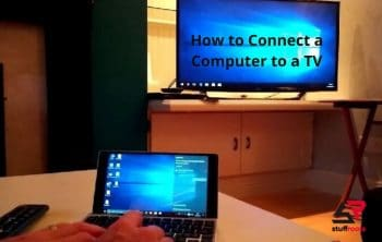 How to Connect a Computer to a TV
