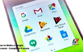 How to Make a Google Account - Complete Process