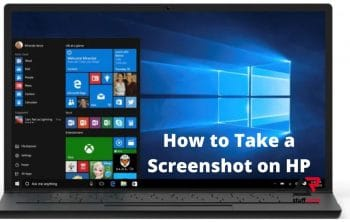 How to Take a Screenshot on HP