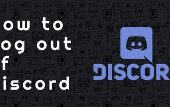 How to Log out of Discord