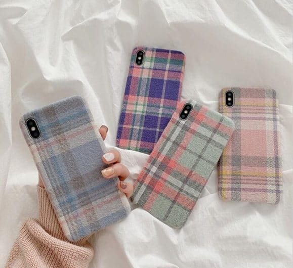 Fabric Covered Phone Case